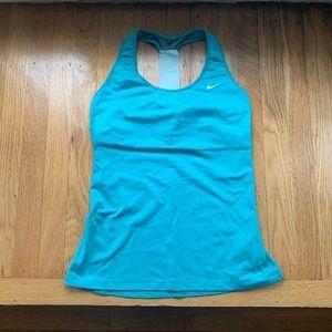 Nike Dri Fit Turquoise Tank Top, Women's M